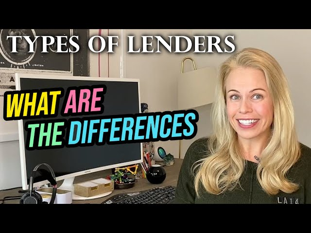 Be Careful! There's So Many Types of Mortgage Lenders That Can Affect The Loan You Receive!