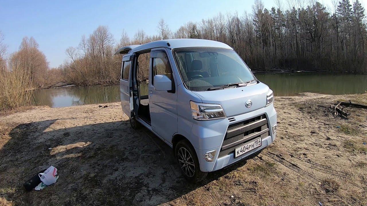 Daihatsu Hijet. Немного о своем авто.