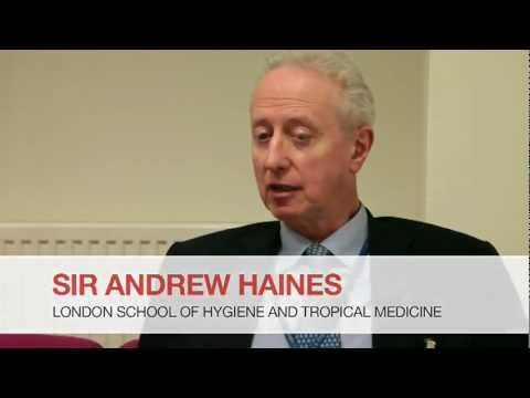 Health care in danger: talk by Prof. Sir Andrew Haines