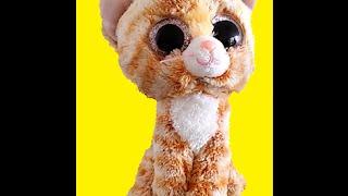 Рыжий кот! Коллекция мягких игрушек c уникальными большими глазами! Сollection toys with big eyes!