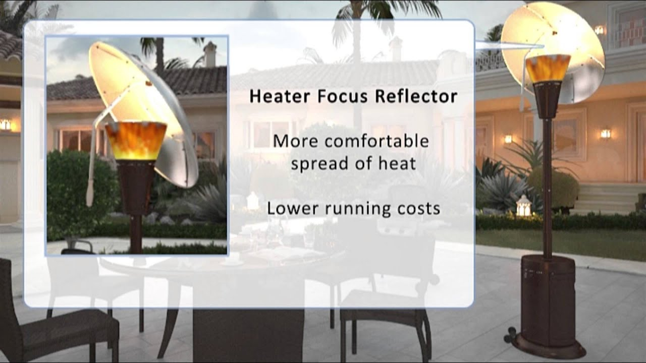 Mirage 38,200 BTU Heat Focus Patio Heater