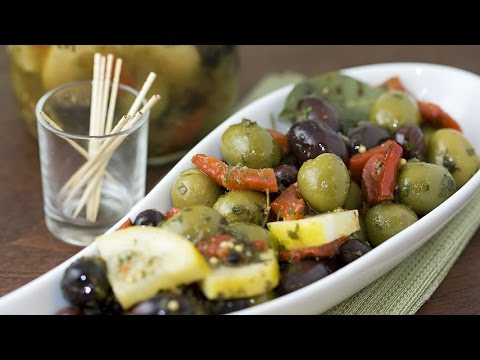 How to Make Marinated Olives - Marinated Olives Recipe