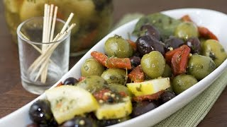 How to Make Marinated Olives