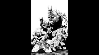 Inking Dark Nights: Metal #6 Cover