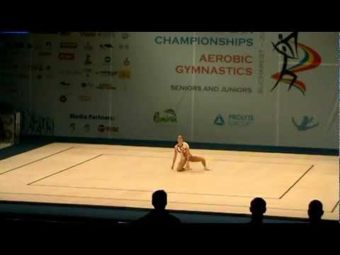 Dora Hegyi - Aerobic Gymnastics European Championship 2011