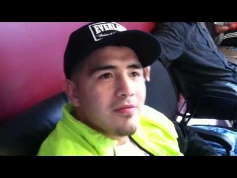 Brandon Rios Half Mexican Half Indian Full Warrior