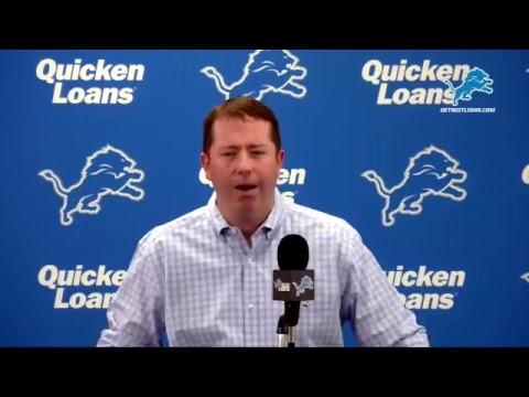 Bob Quinn Pre-Draft Presser