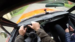 1965 Ford Mustang 289 V8 Fastback - POV TEST DRIVE / EXTREMELY LOUD EXHAUST!