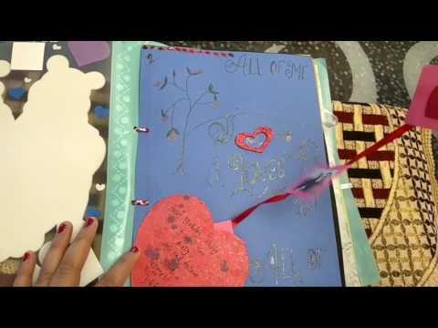 Handmade scrapbook ideas for birthday
