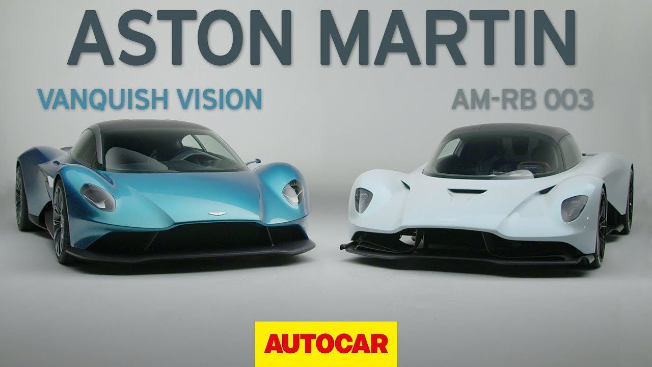 Aston Martin Am Rb 003 And Vanquish Vision Concept Revealed Geneva Motor Show 2019 Autocar Youtube