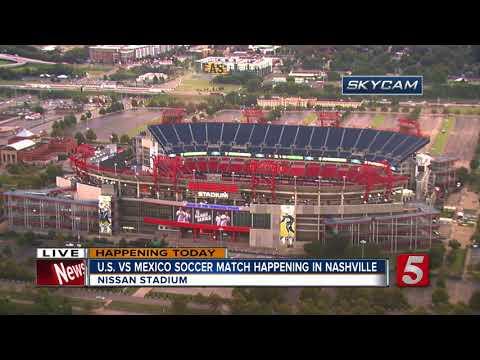 U.S. Men's Team Take On Mexico In Nashville