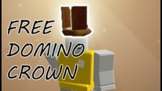 WIE ZU GET A FREE DOMINO CROWN IN ROBLOX (NEAPOLITAN CROWN)