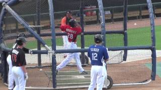 Yorman Rodriguez, OF, Cincinnati Reds (AFL Fall Stars Game Batting Practice)