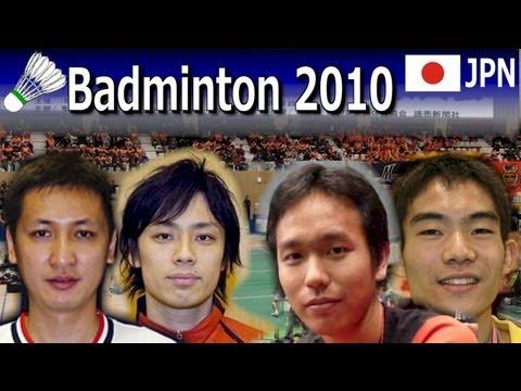 Badminton Japan league 2010 MD IKEDA Yulianto vs Setiawan SONODA