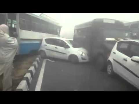 Biggest accident in Haryana India