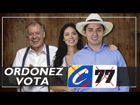 ELECCIONES 2018 | DR ALEJANDRO ORDOÑEZ APOYA AL SENADO AL C#77
