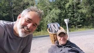 Tag 233 vom Ratscher See nach Bockstadt - Lauf um die Welt für das Leben gegen Suizid & Depression