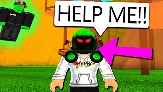 GREEN GUEST GAVE ME A DOMINUS.. (Roblox)