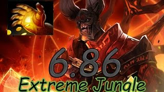 dota 2 6 86 jungle dire doom fast midas 6 18