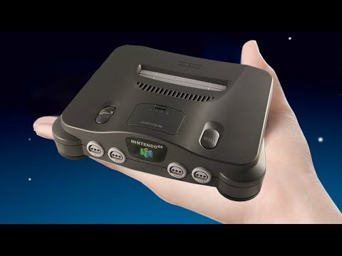 Nintendo Mini N64 Potentially Revealed In Patent