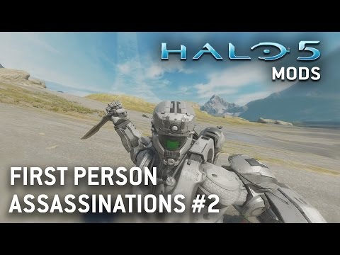 Halo 5 Mods - First Person Assassinations & Victims Perspective