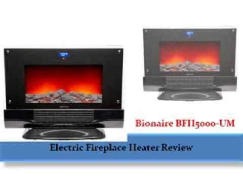 Order link : http://goo.gl/pme6Vh Bionaire BFH5000 UM 1 Electric Fireplace Heater provides the ambiance and warmth of a fireplace without the mess! No logs
