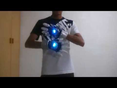 Tsuna Sawada X-Gloves VR-2 Katekyo Hitman Reborn Cosplay