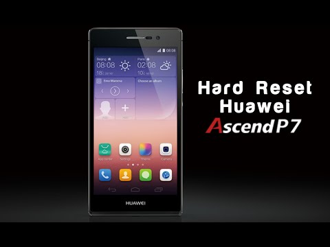 Huawei Ascend P7 Hard Reset/ Factory Reset