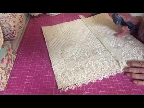 Fabric Loaded Pocket Tutorial