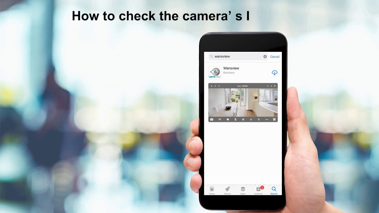 Wansview Cameras-- How to Check and Modify the Camera's IP Address?(2018)