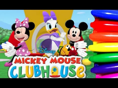 - Disney Junior Mickey Mouse Clubhouse Coloring Page Fun For Kids To Learn  Art - YouTube