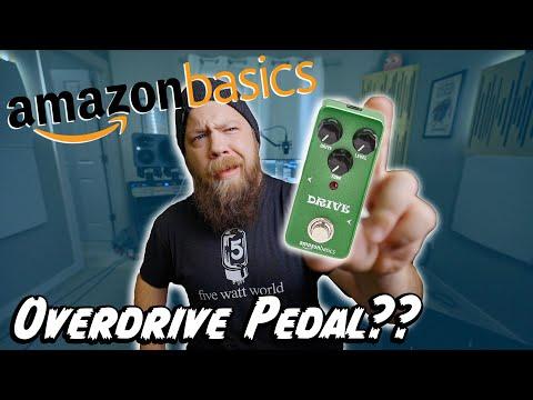 Amazon Basics OVERDRIVE Pedal??