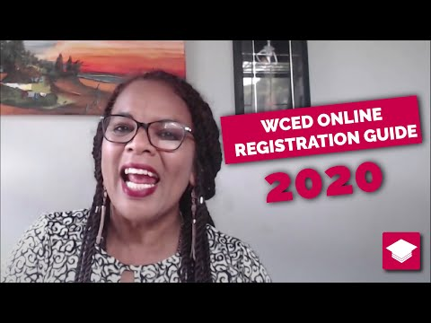 WCED learner Online Admissions for 2020: A Quick guide, especially for parents