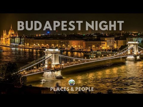 BUDAPEST - HUNGARY  NIGHT  [ HD ]