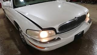 JXBU099 1999 Buick Park Avenue Ultra Test Video