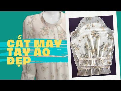 Kiểu Đồ Bộ Mặc Nhà/Cắt May Tay Áo Đẹp/@Kim Vàng #40