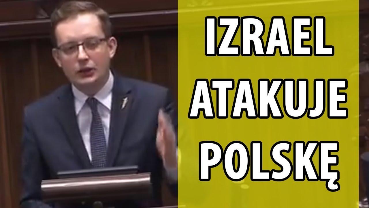 Robert Winnicki: trwa DYPLOMATYCZNA AGRESJA IZRAELA przeciwko Polsce