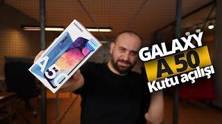 2849 TL fiyata ekrandan parmak izi: Galaxy A50 kutudan çıkıyor!