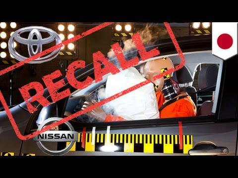 Airbag recall: Toyota, Nissan recall 6.5 million faulty airbags over shrapnel worries - TomoNews