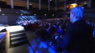 Lars Lerin tar emot Augustpriset 2014