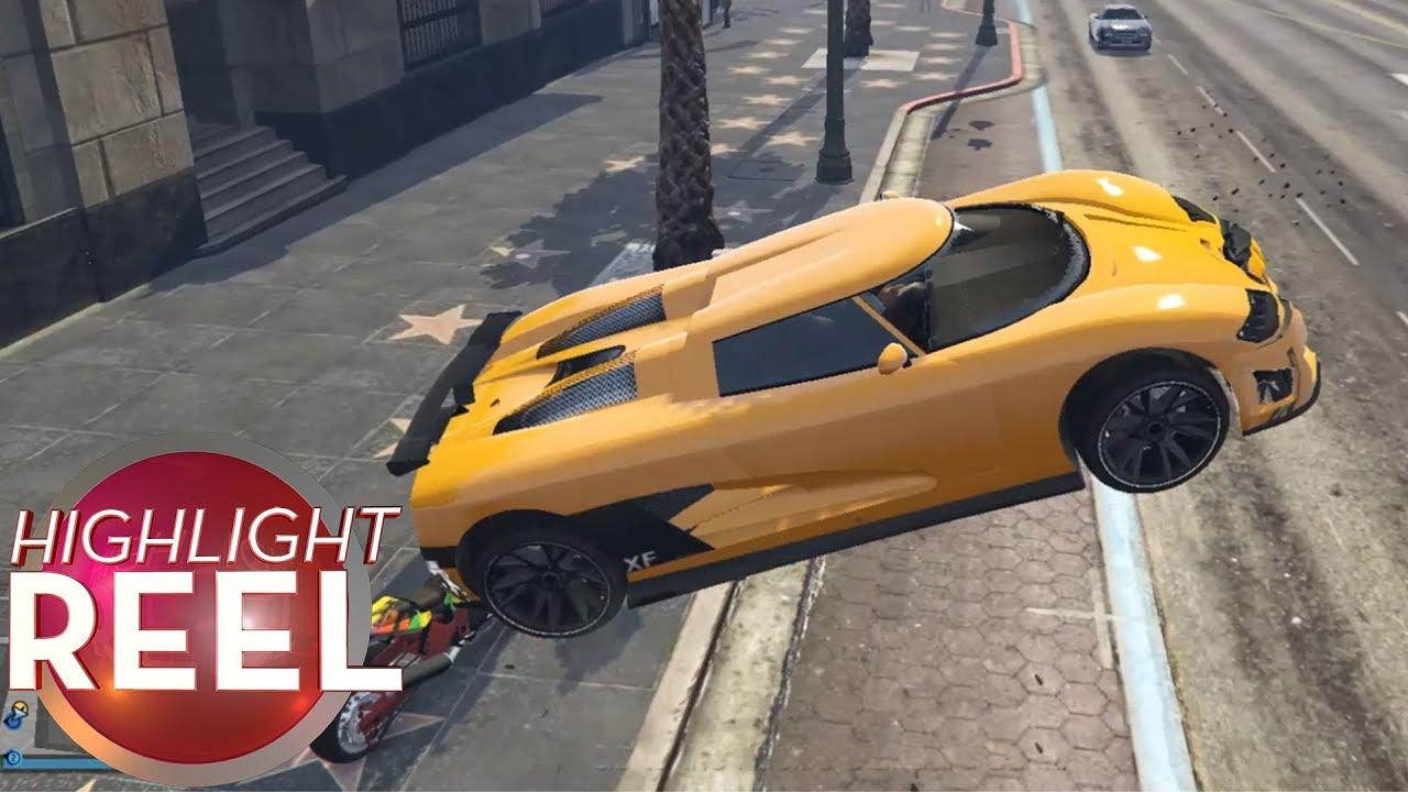 Highlight Reel #424 - GTA Car Has Great Air Brakes