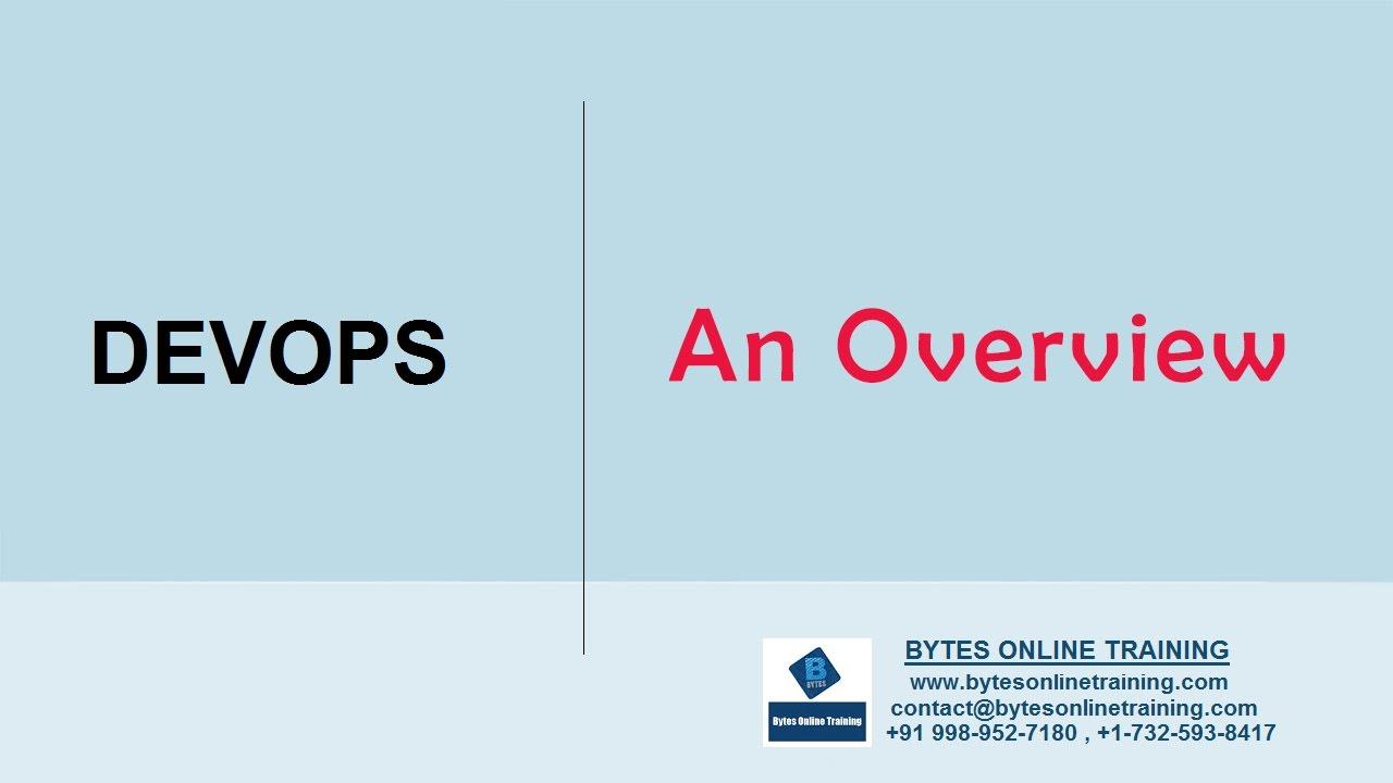 Online Devops Training Course | Bytes Online Training Bytes