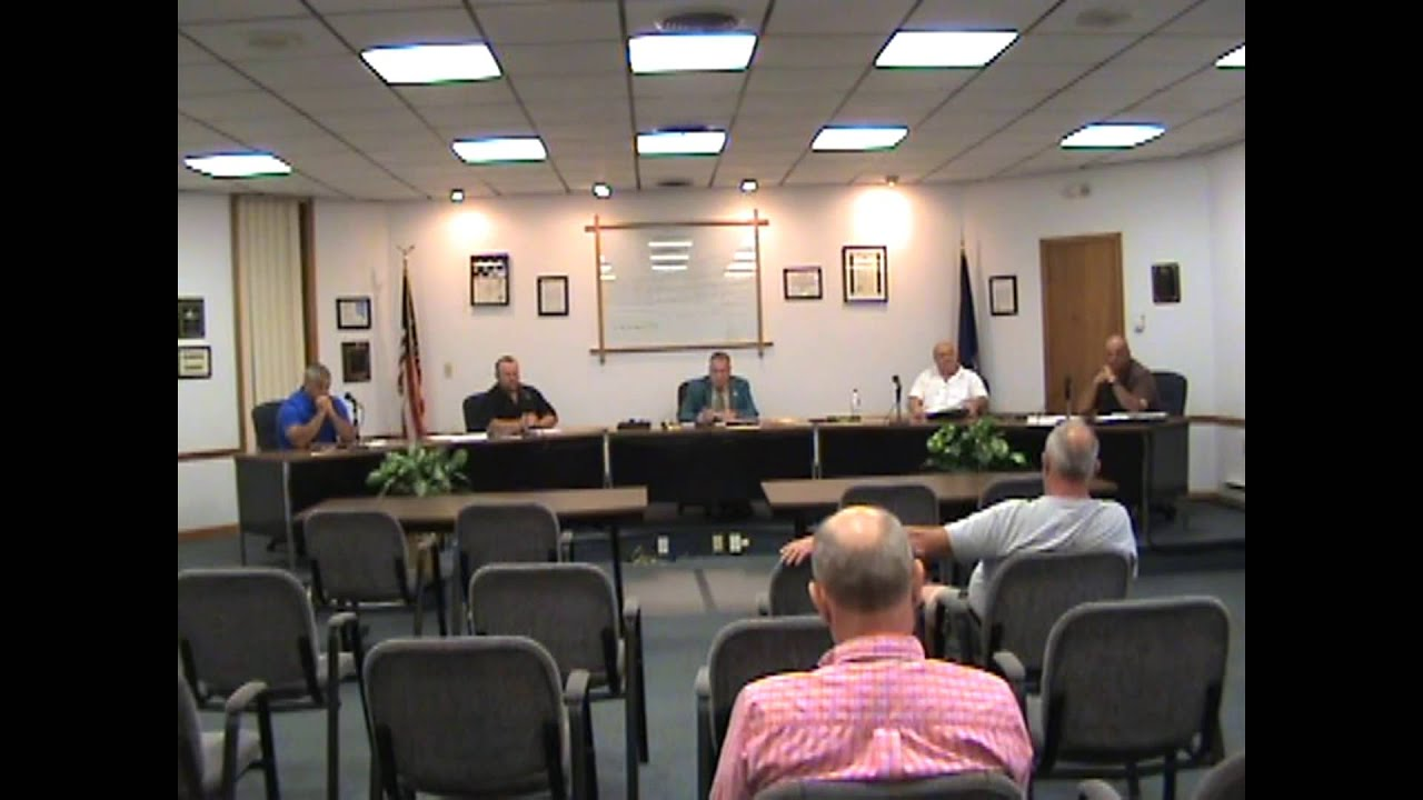 Rouses Point Village Board Meeting pt two  8-17-15