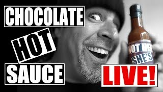 Chocolate Hot Sauce Giveaway LIVE!