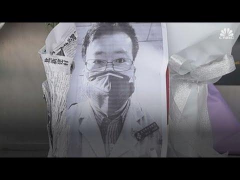 Chinese social media lights up at death of coronavirus whistleblower, Dr. Li Wenliang