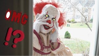 Pennywise From It - a Creepy Clown Story - Scariest Cereal Ever!!
