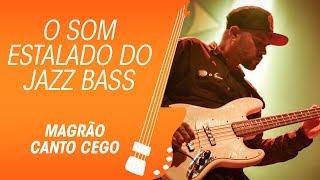 fender jazz bass com som estalado do magrão canto cego