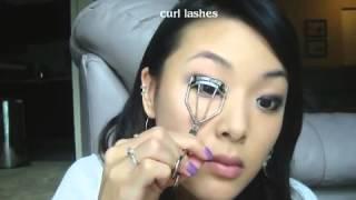 [Mimi 4Beauty] Trang điểm nâng cao 030: Vẽ Eyeliner và Masscara cho mắt một mí