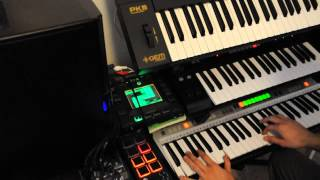Terminator theme piano with Synth and Effects