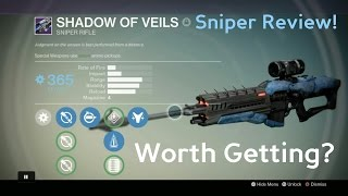 Destiny: Shadow Of Veils, Legendary Sniper Review